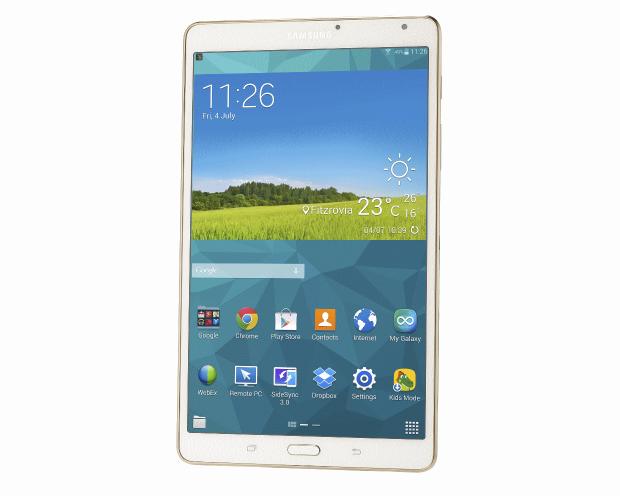 Samsung Galaxy Tab S 8.4 intro
