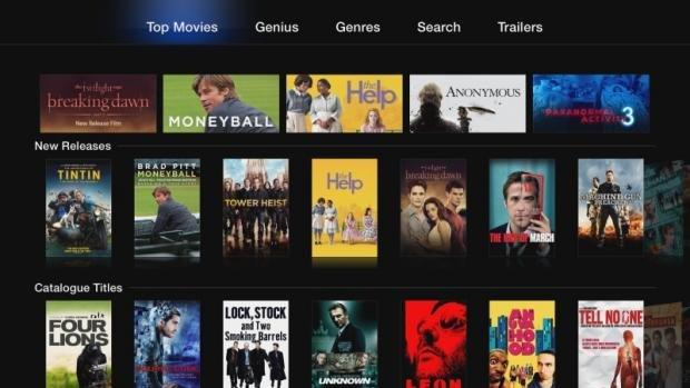 Apple TV top content