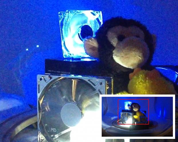 Apple iPad 4 sample shot - video, low light