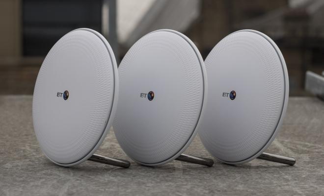 BT Whole Home Wi-Fi angled