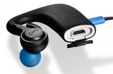 BlueAnt Pump HD Sportbuds USB port