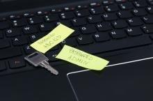 Passwords on post-its