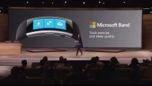 Microsoft Band 2 sensors
