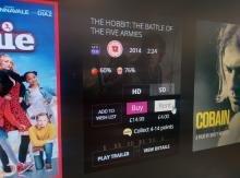 Sainsbury's Entertainment movie rental