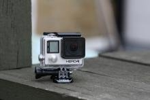 GoPro Hero 4 Black front angle