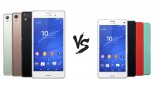 Sony Xperia Z3 vs Sony Xperia Z3 Compact