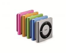 Apple iPod Shuffle colours