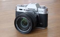 Fujifilm X-T10 front