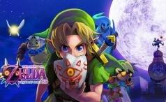 The Legend of Zelda Majora's Mask 3D header