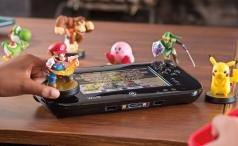 Nintendo Wii U GamePad and amiibos