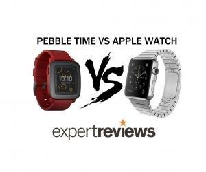 Pebble time vs Apple watch