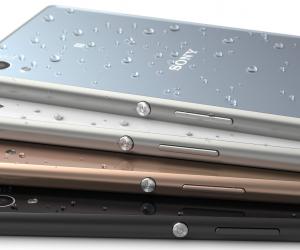 Sony Xperia Z3+ colour range