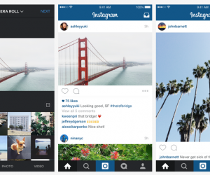 Instagram landscape update