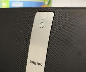 Philips Izzy BM50 logo closeup