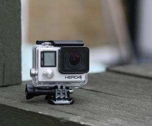 GoPro Hero 4 Black front angle
