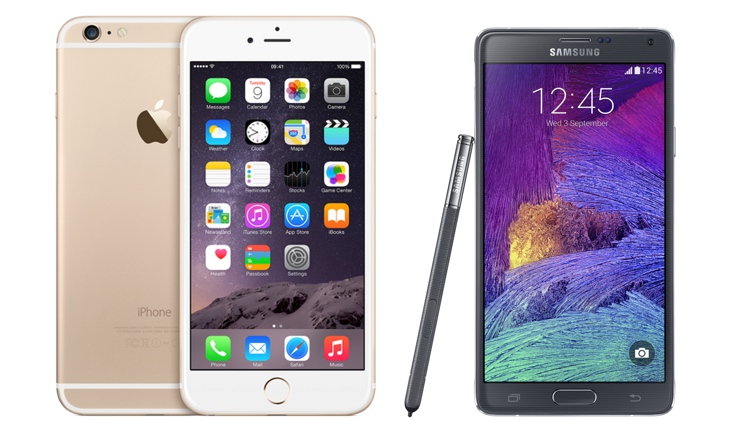 the latest f8579 c18fc iPhone 6 Plus vs Galaxy Note 4 - which phablet is best? | Expert Reviews