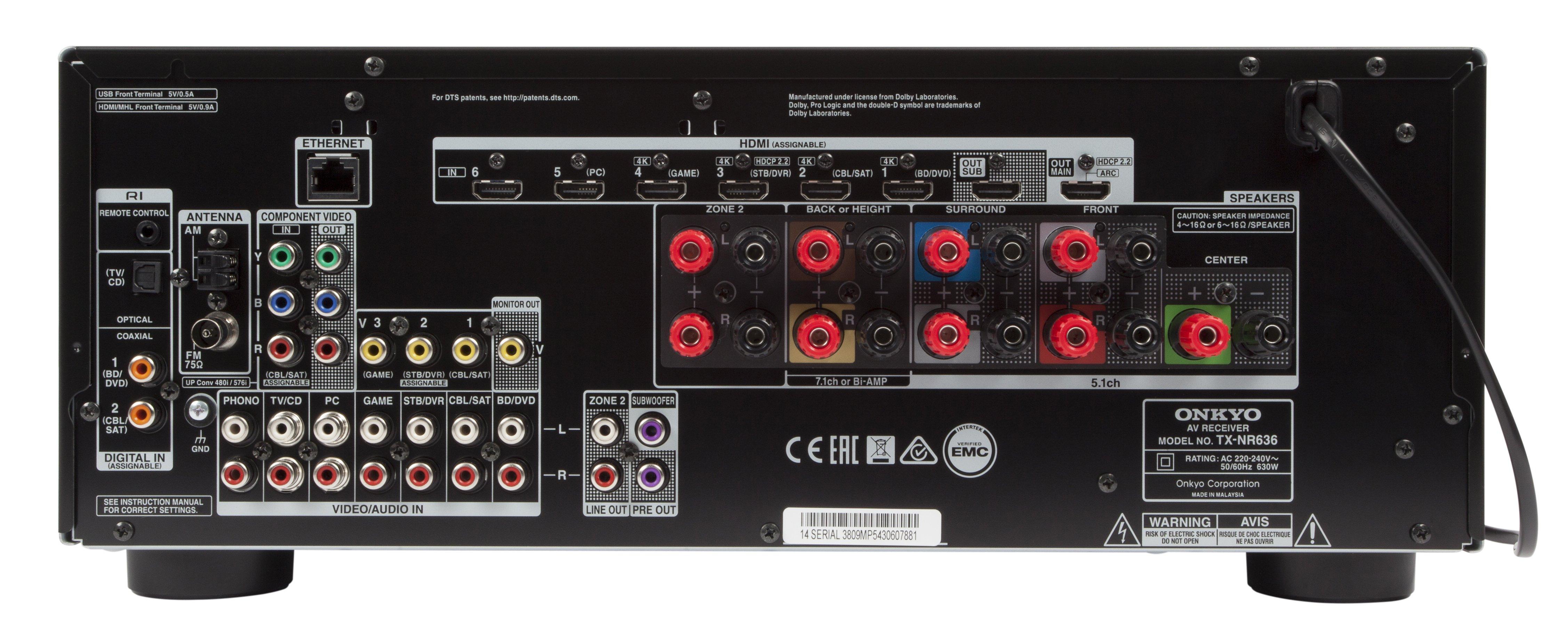 Onkyo TX-NR636 review | Expert Reviews