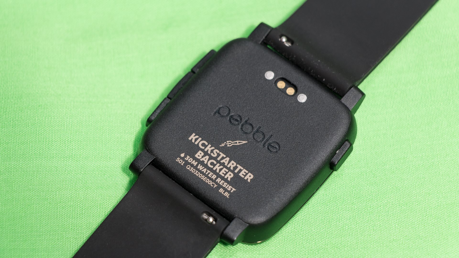 Pebble Time Review Expert Reviews Smartwatch Red Back