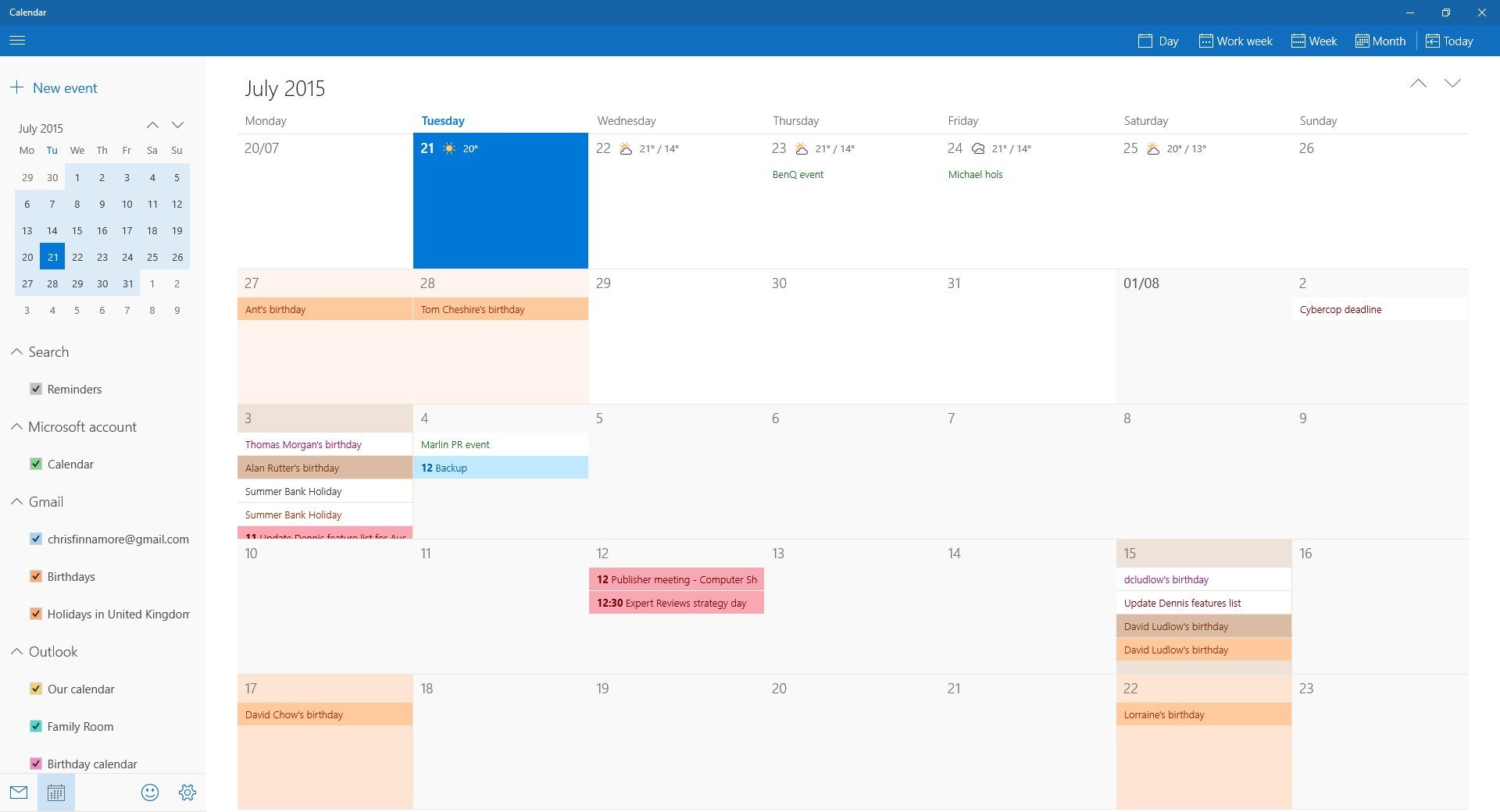 How To Set Up And Use The Calendar In Windows 10 Expert Reviews