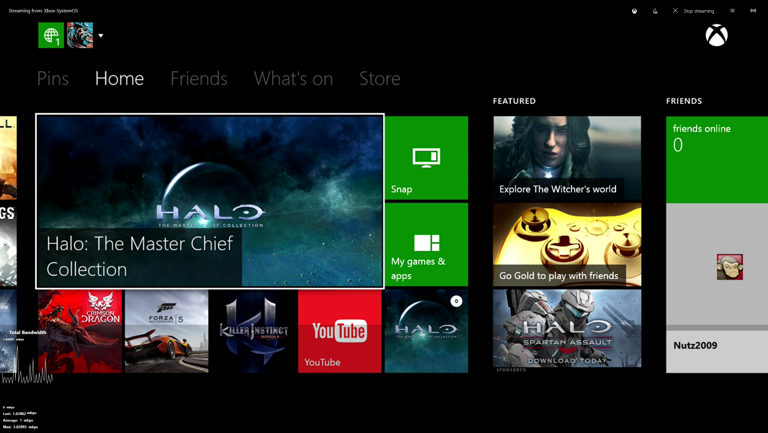 how to set up xbox one game streaming on windows 10