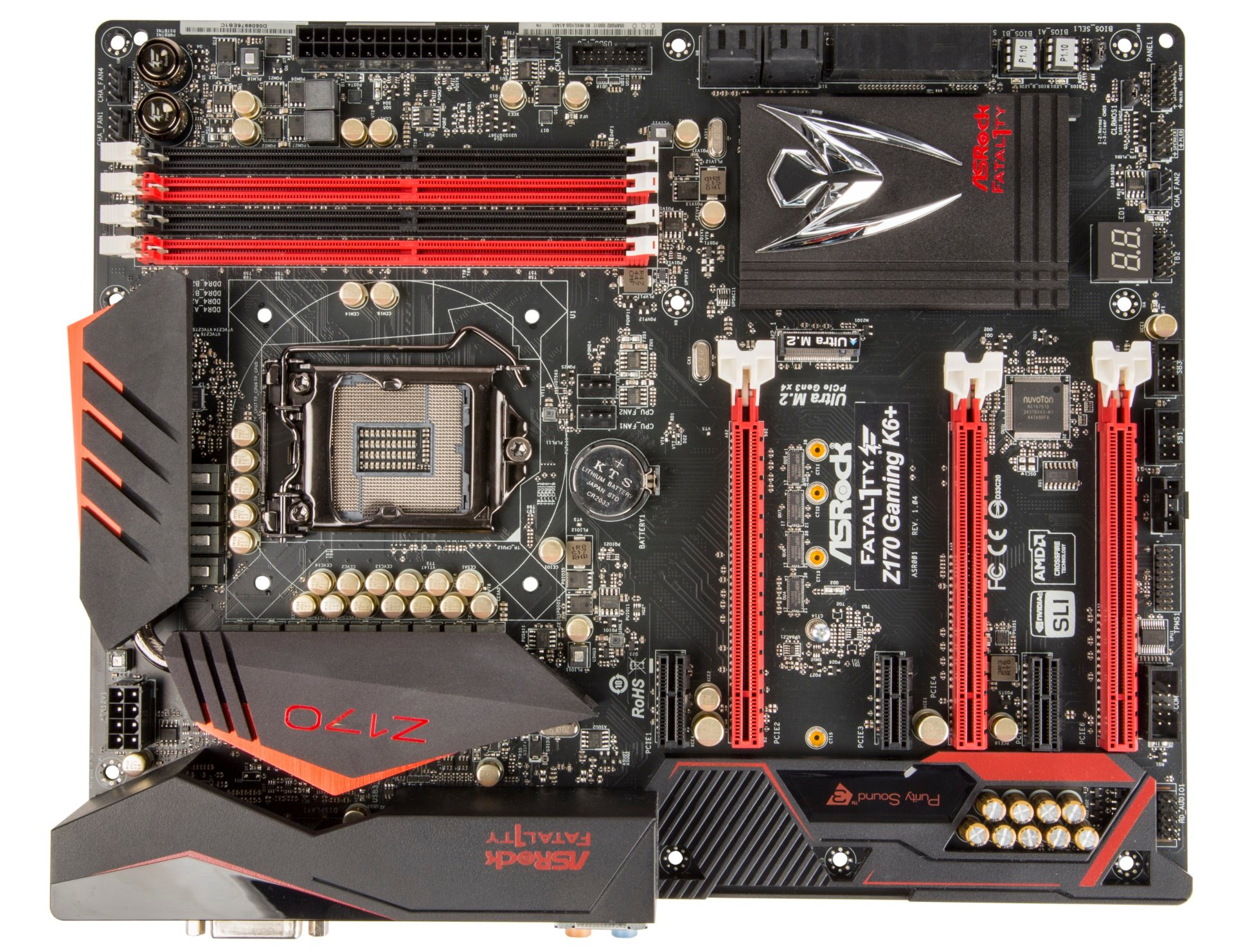 ASRock Fatal1ty Z170 Gaming K6+ Intel SATA Drivers Update