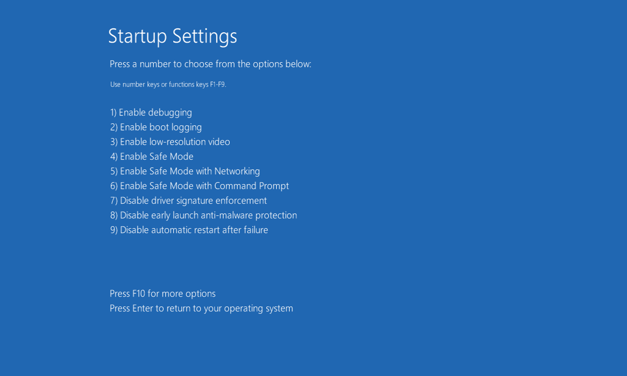How to boot Windows 10 into Safe Mode   Expert Reviews