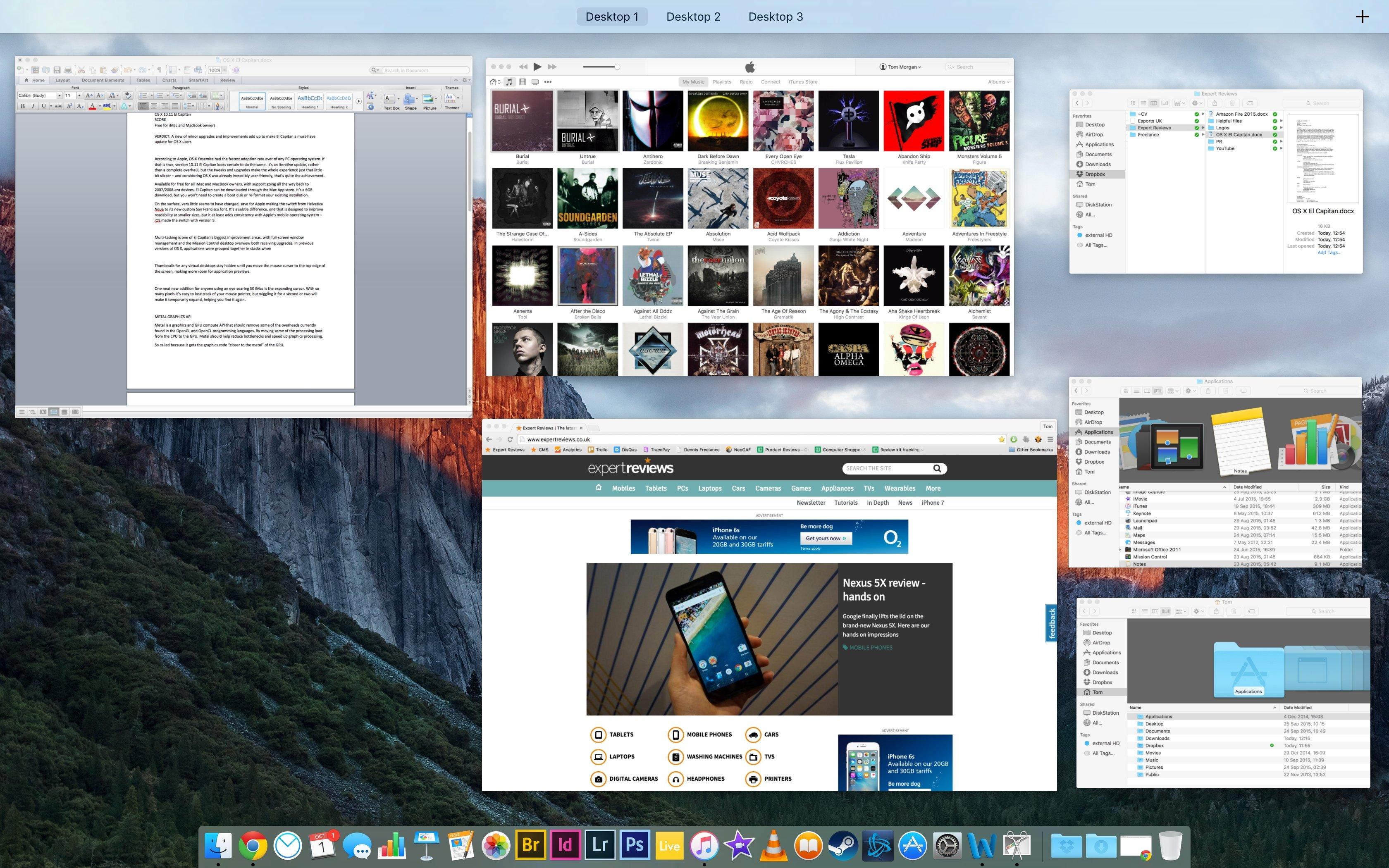 Microsoft word for mac os x el capitan 10.11.6