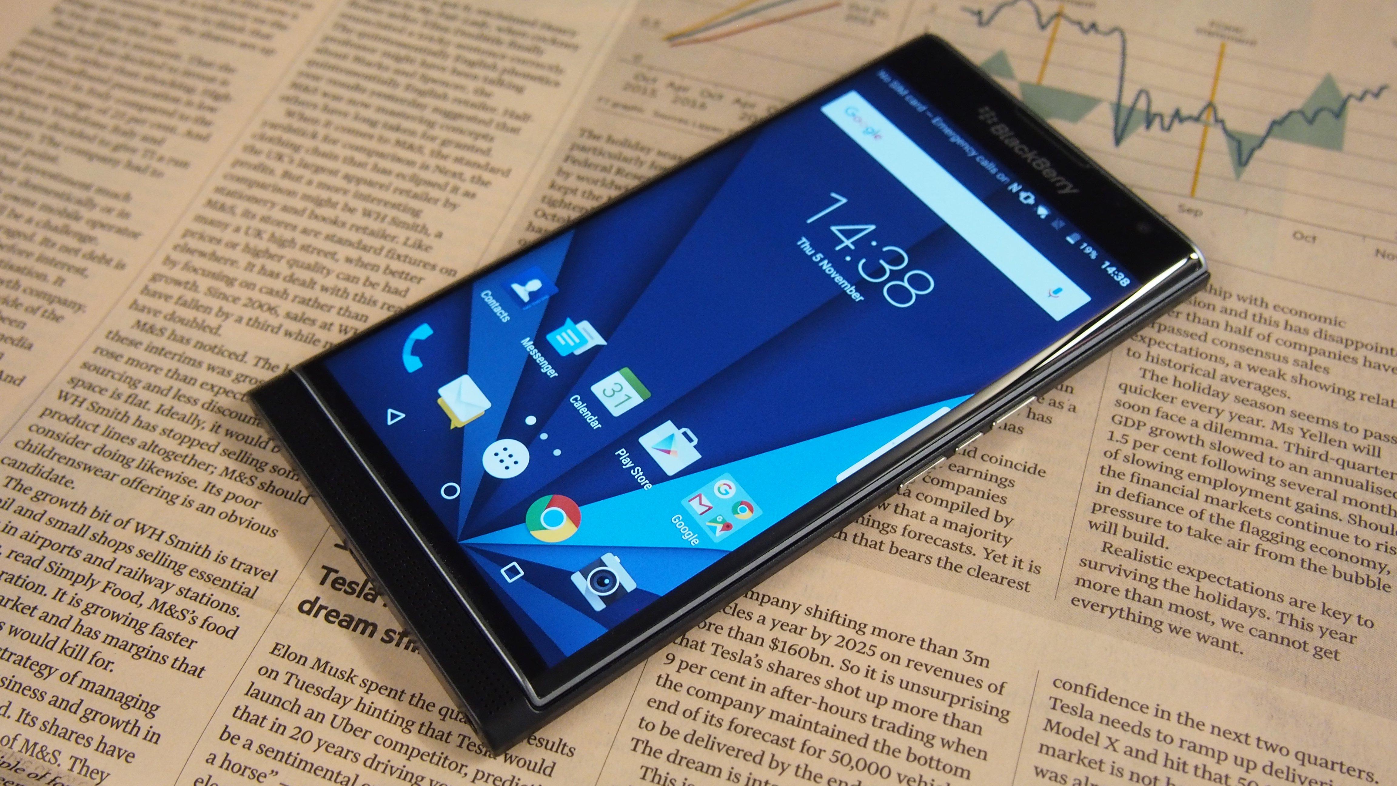 Blackberry Priv Review Expert Reviews