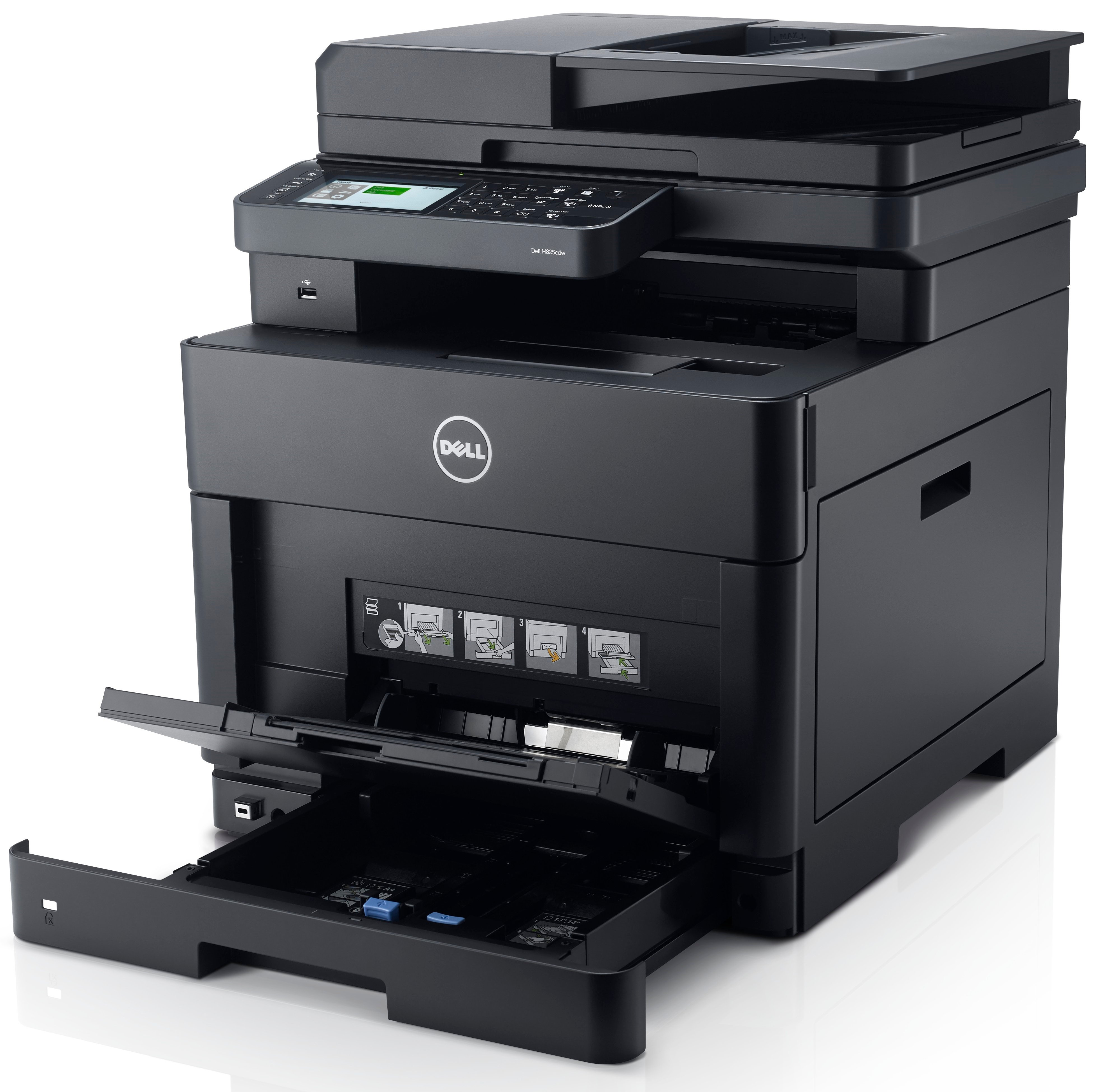Dell H825cdw Review The Best Colour Laser Mfp For Small