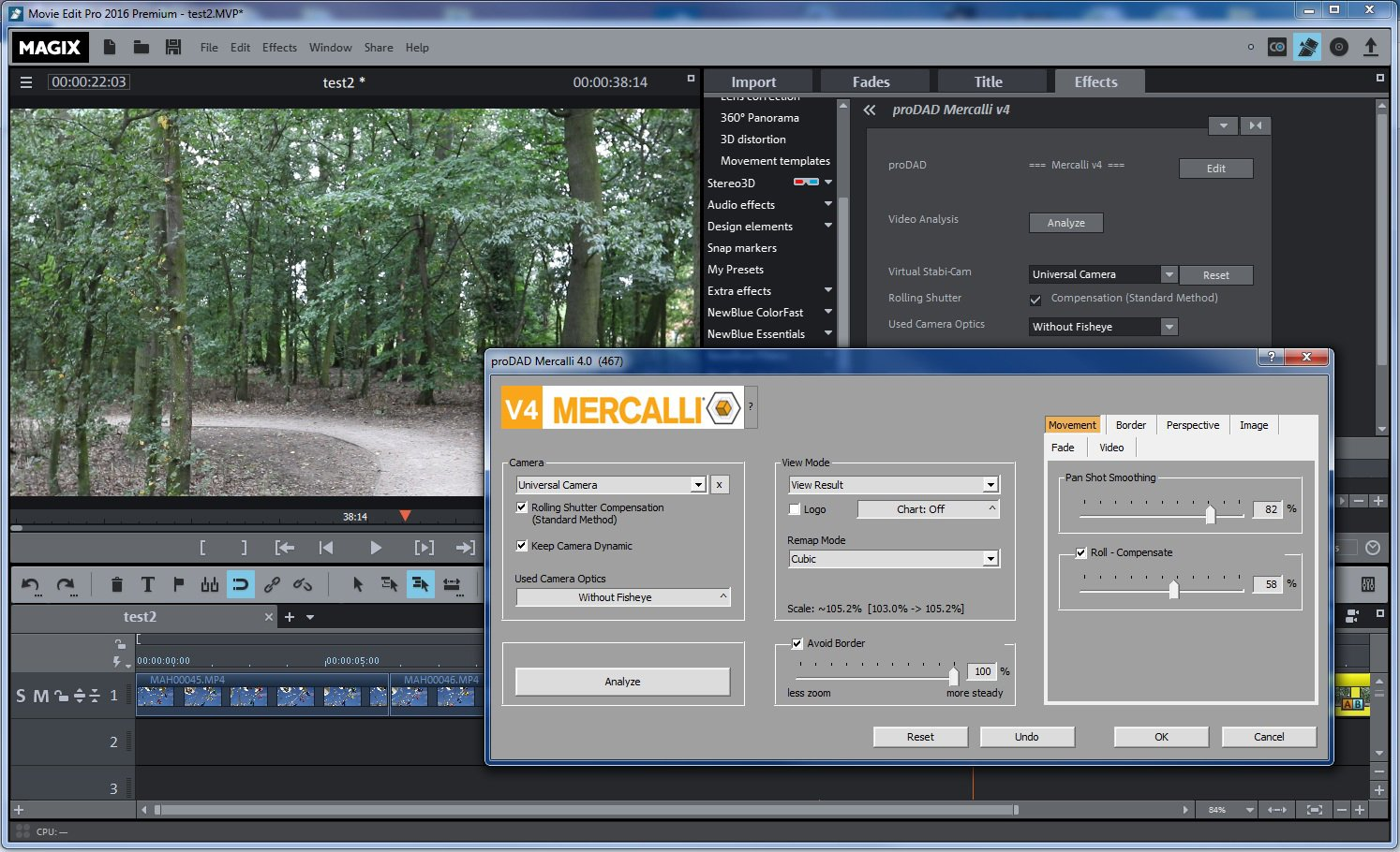 Magix Movie Edit Pro 2016 Premium Review Great Video Stabilisation