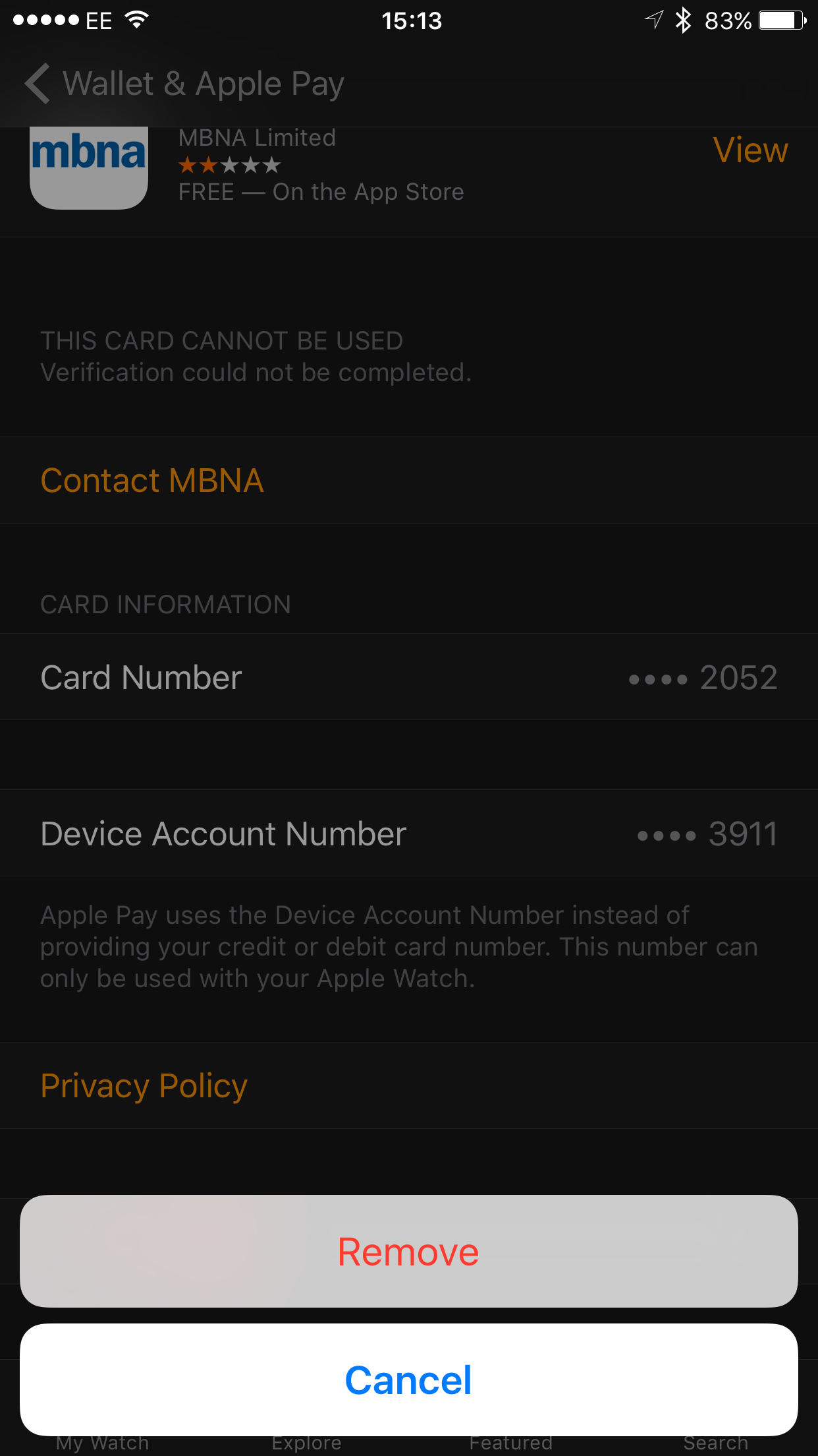 How to fix the Apple Watch 'Card not available' error | Expert Reviews