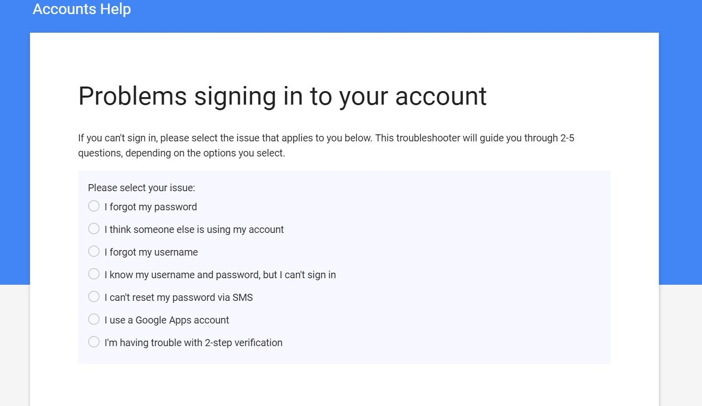 What to do if the account is locked 15