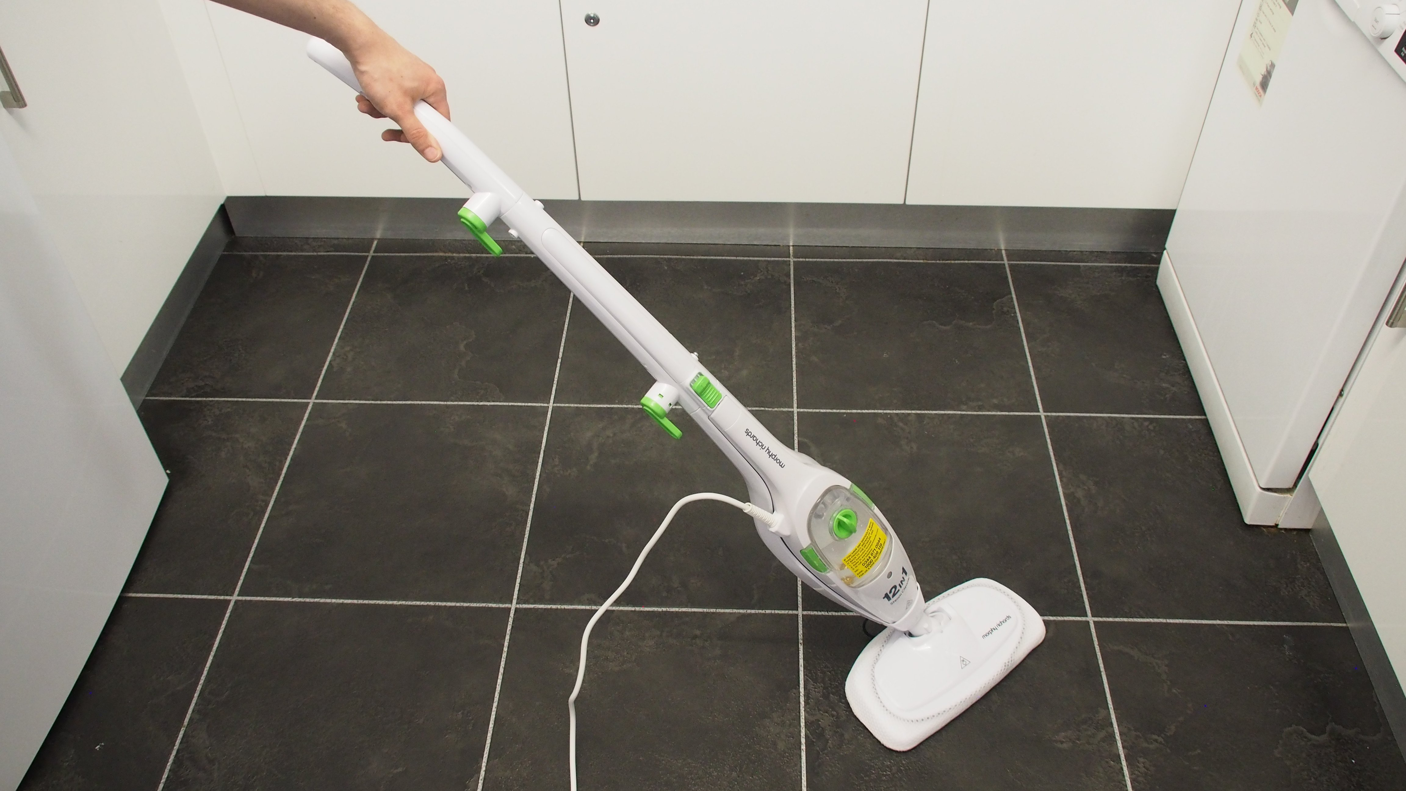 Morphy Richards 12-in-1 Upright and Handheld Steam Cleaner review | Expert Reviews