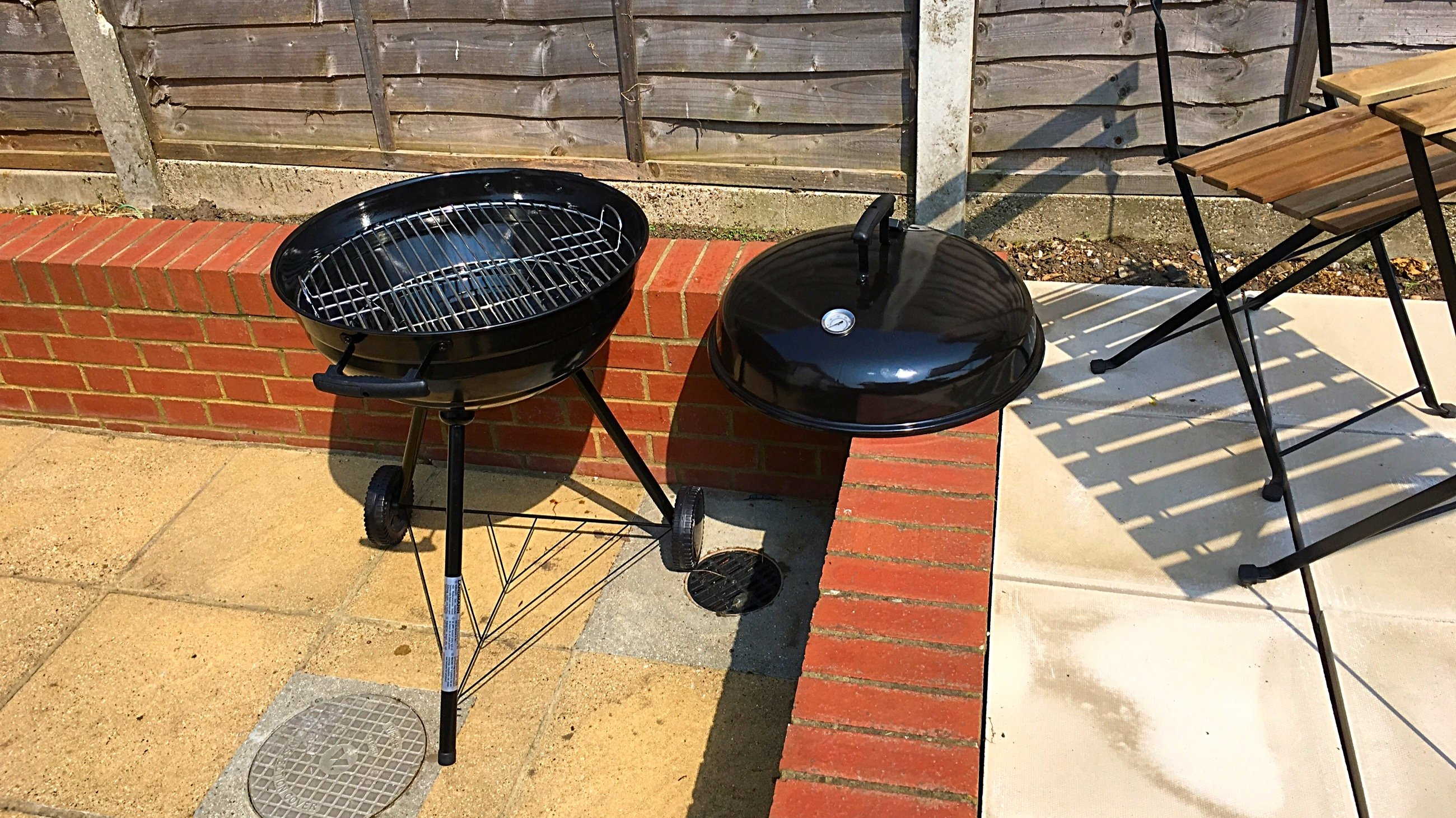 landmann grill chef 31347 57cm premium review - a great bbq for £100