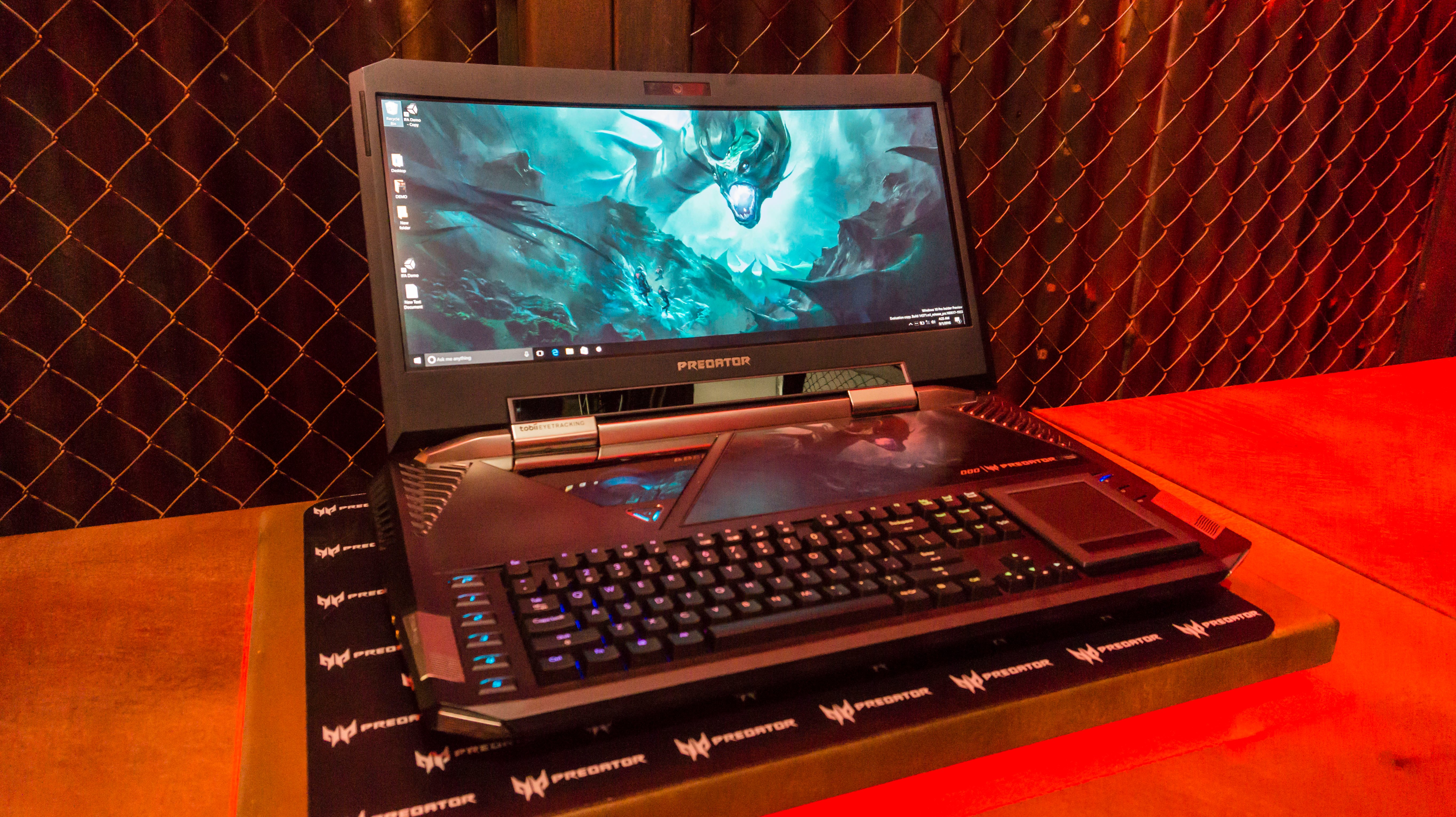 acer predator 21x review  hands on with the world u0026 39 s most