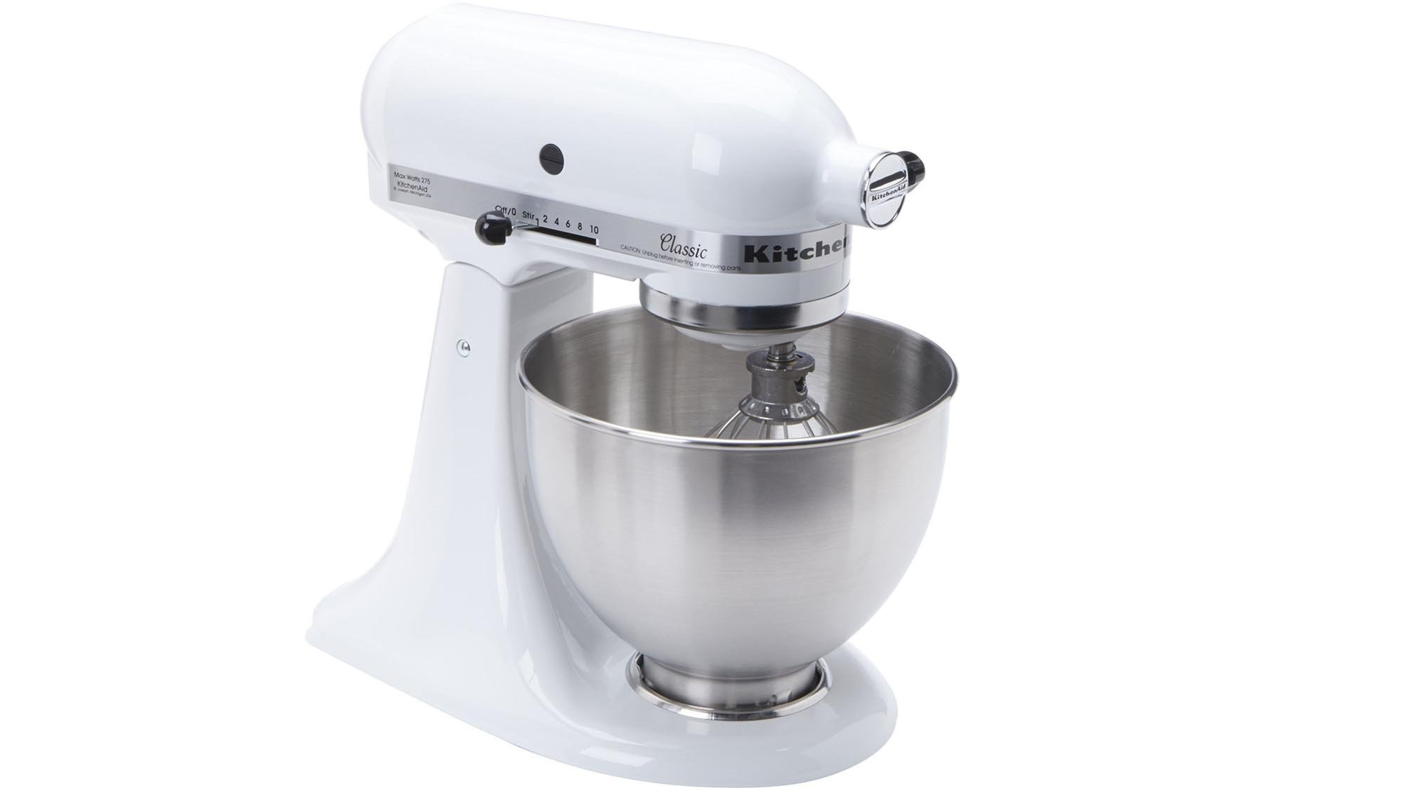 22fef9762d9 The best stand mixers to buy. 1. KitchenAid K45SS Classic Mixer  The  classiest-looking stand mixer around