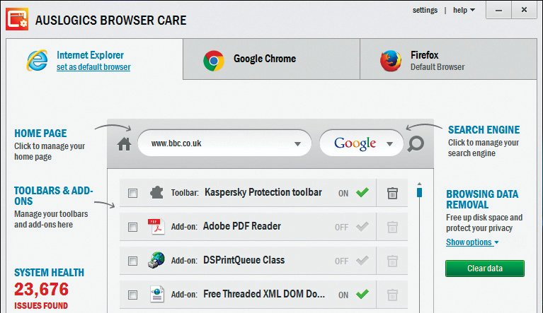 How to remove extensions from Chrome, Internet Explorer, Firefox and