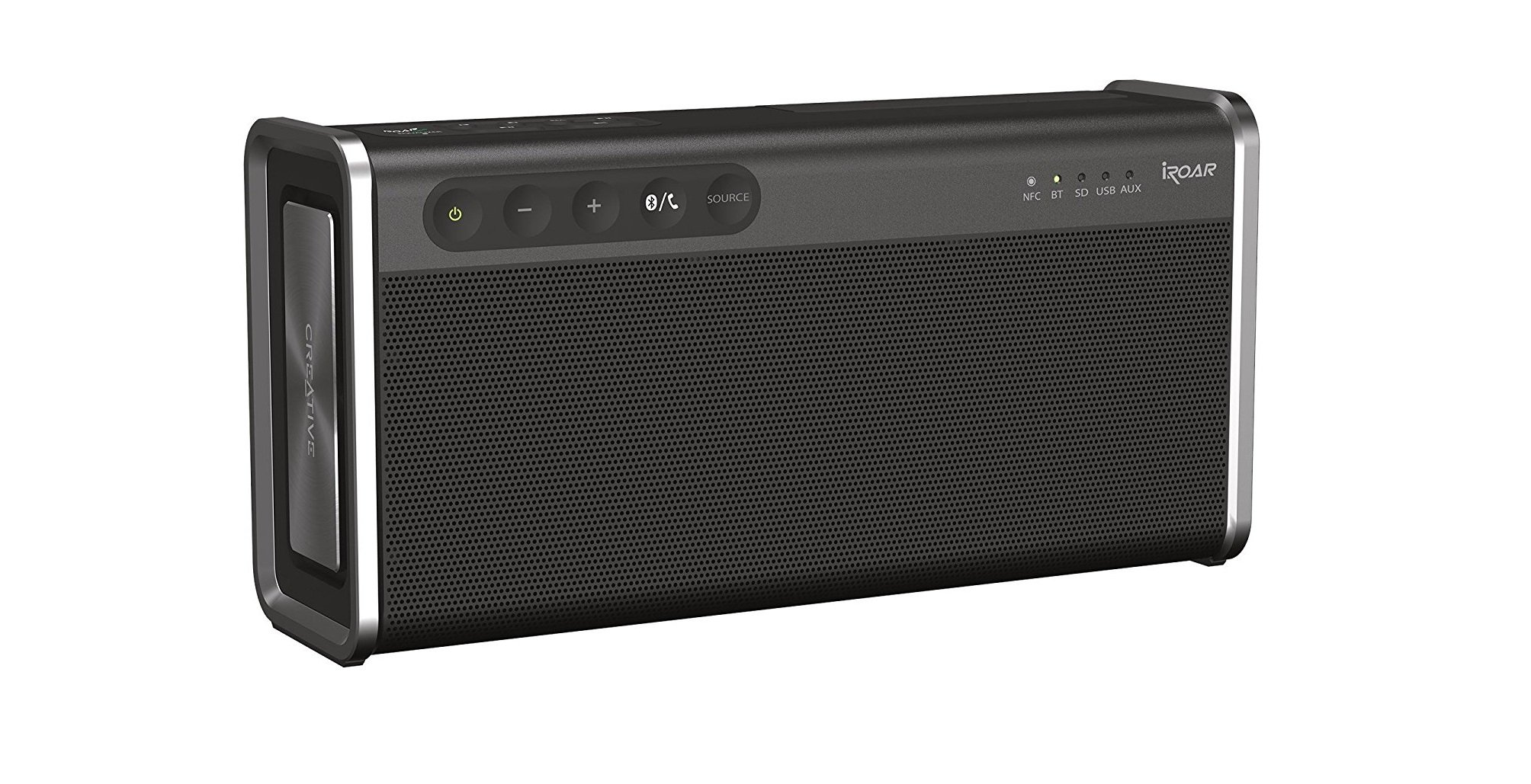 Best Bluetooth Speakers 2018 Portable Indoor Waterproof And Speaker Jbl Charge Mini 2 Plus Wireless Smartphone Aux The Creative Iroar Go Is A Do It All Has Host Of Features That Make One Most Complete On Market