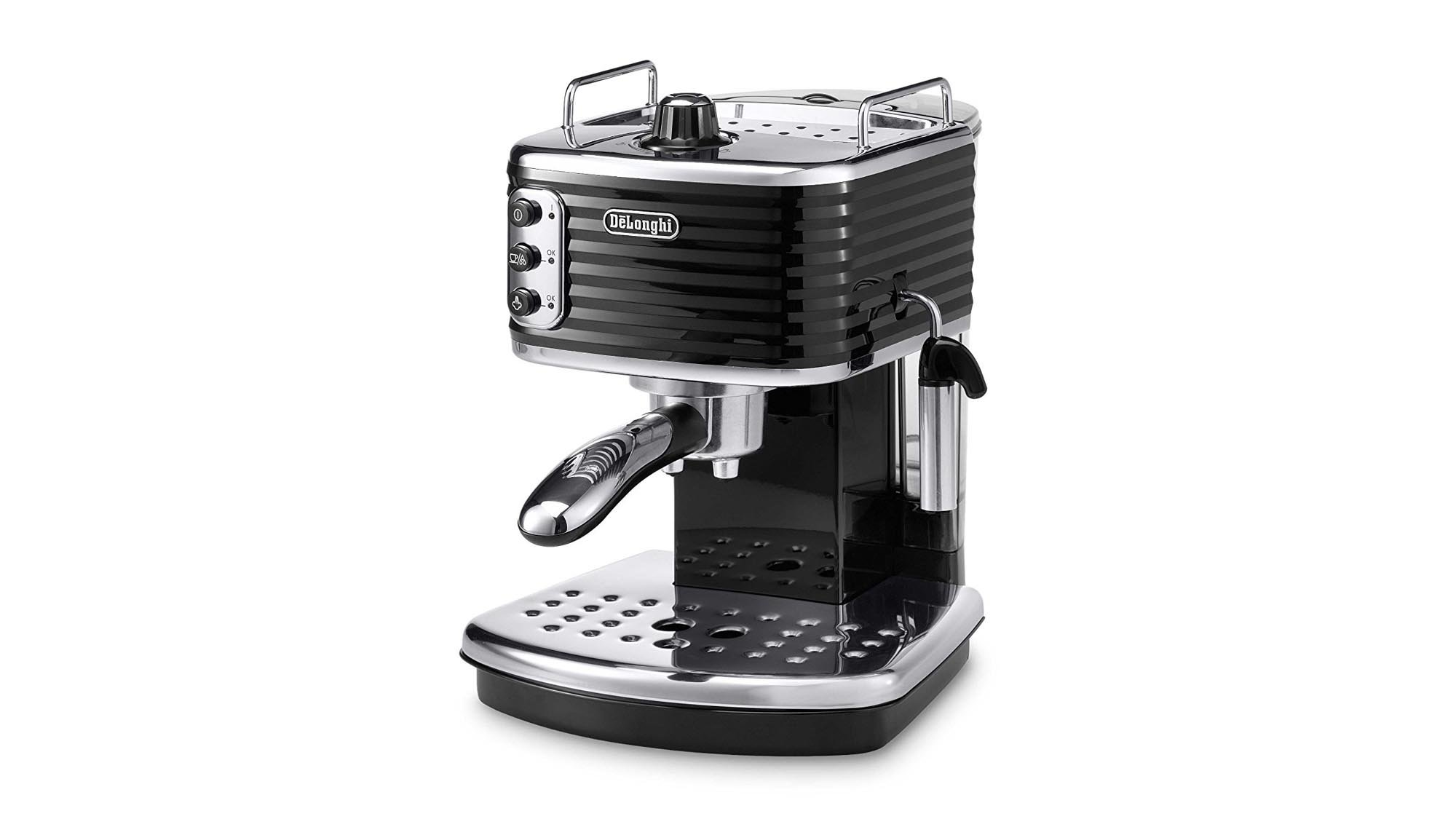 de 39 longhi scultura coffee machine review great quality espresso for sensible money expert reviews. Black Bedroom Furniture Sets. Home Design Ideas