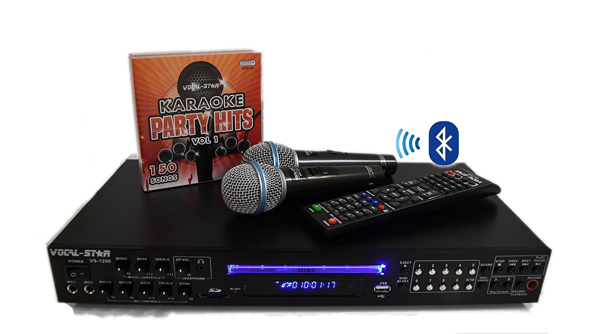 Best Karaoke Machine 2018 Save On Singing Machines With Black Mic Wireless Microphone Hifi Speaker Sing A Song Professional Kit Used In Bars Can Cost Silly Money But If You Want Something Affordable And Bit More Polished Than The Usual Home Oriented