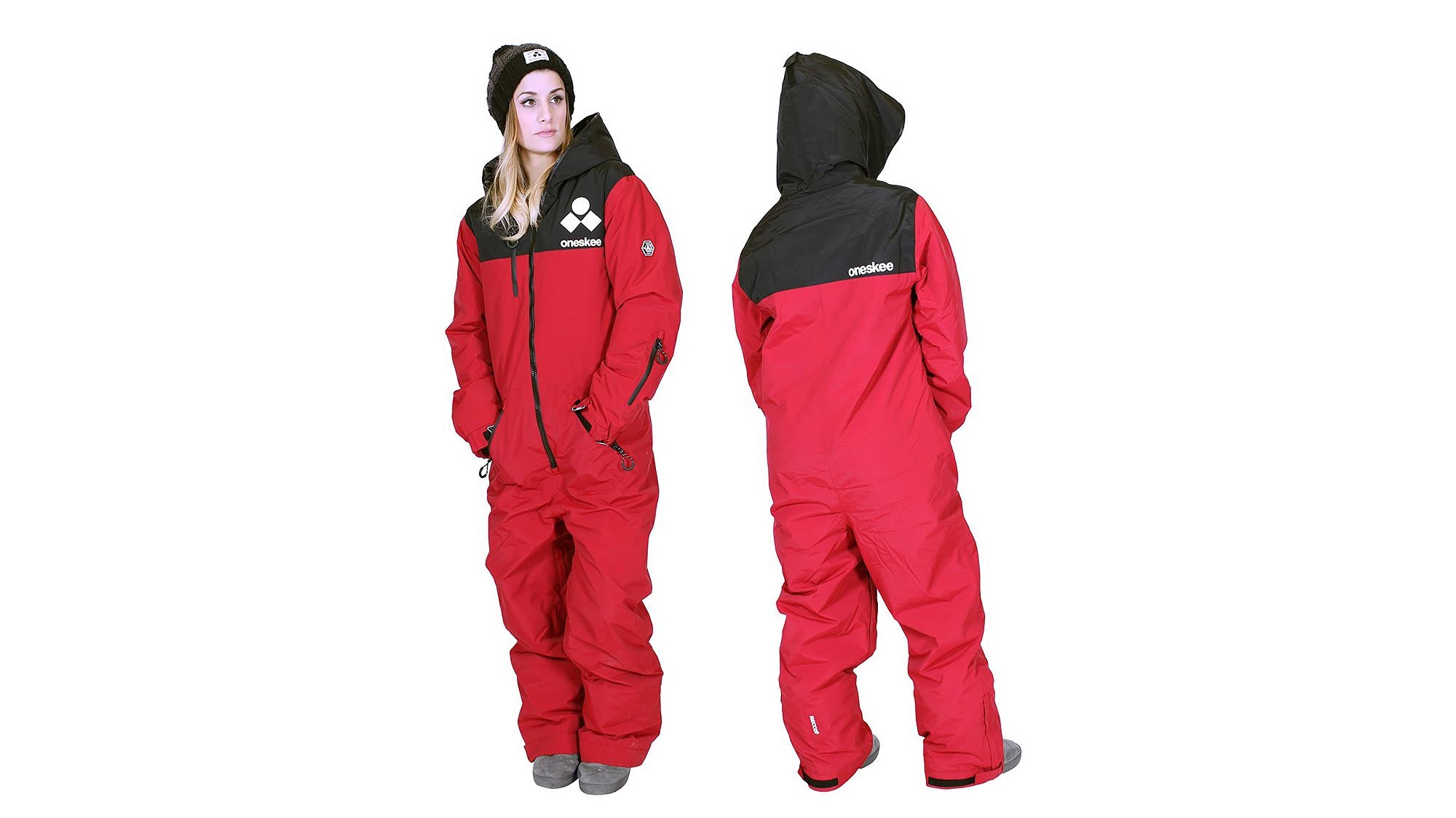 Oneskee s fun ski suits are a great alternative to a jacket and salopette  combo. They offer great waterproofing 8b38bbf6e
