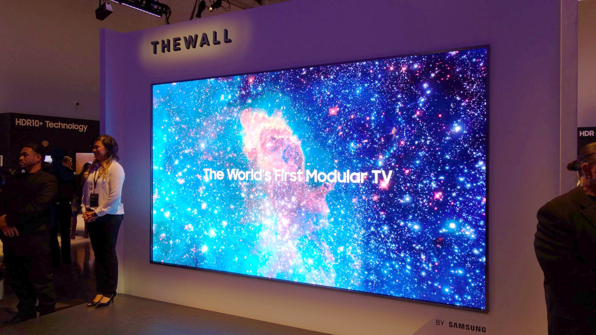 Samsung The Wall: Samsung's 146in modular TV now has an even larger