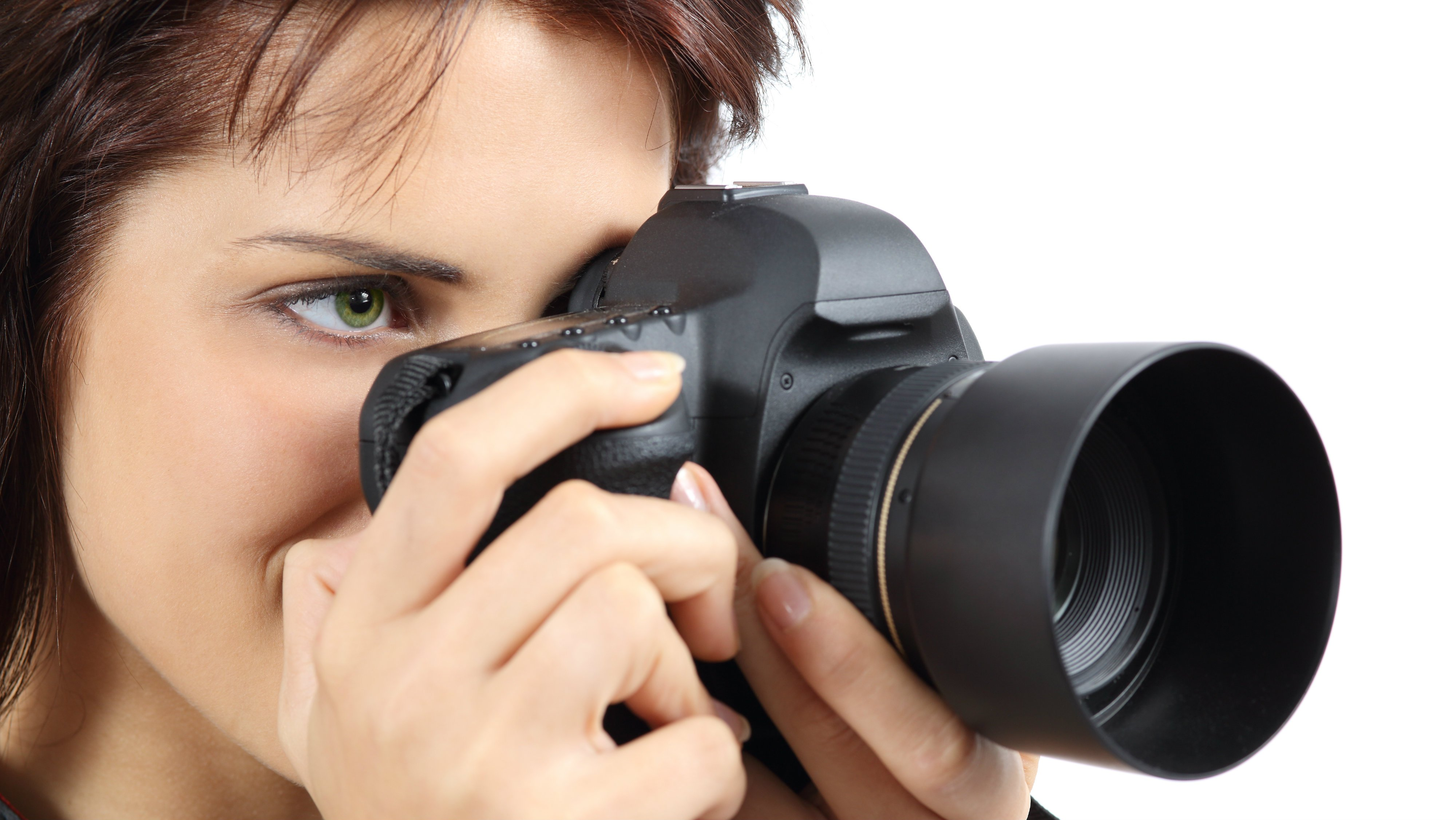 camera digital holding courses photographer udemy course dslr woman positives enrolling associated background fotosearch cameras expertreviews isolated advertisement