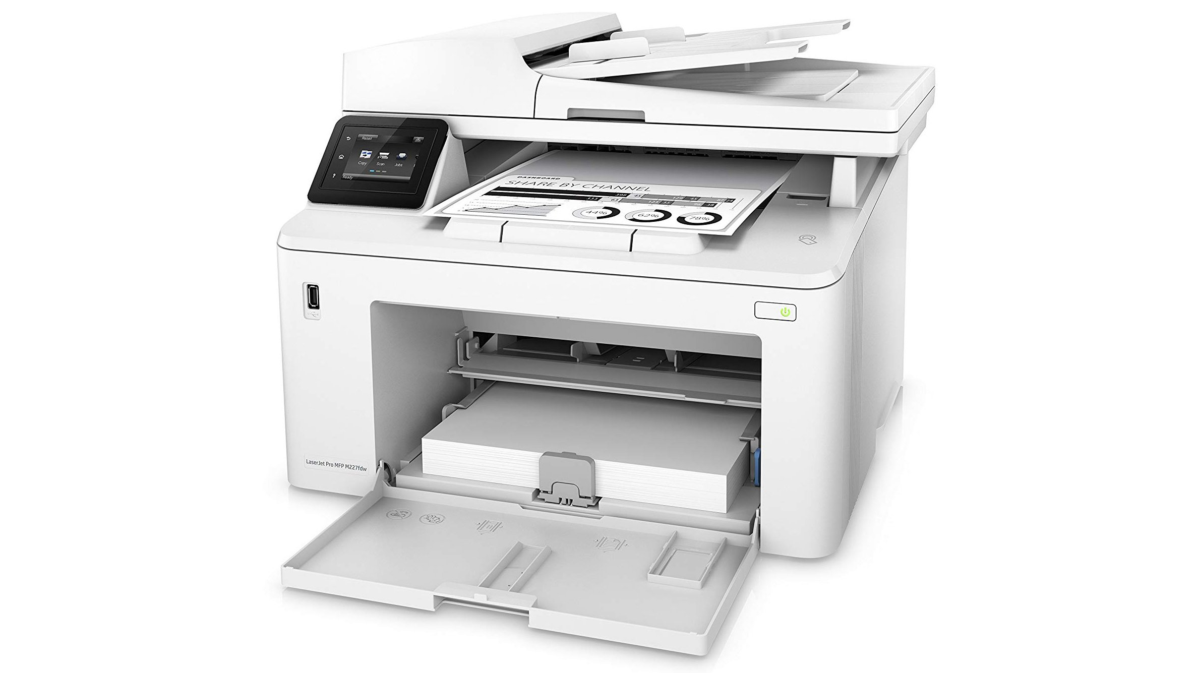 HP LaserJet Pro M227fdw review: A good MFP, but it's too expensive