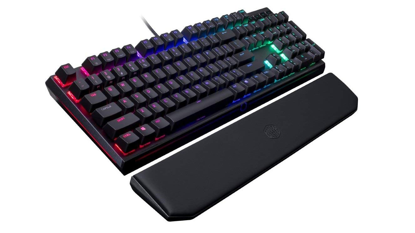 4d0c46bb6af If you're looking for a do-it-all keyboard, want a premium frame, a  detachable wrist rest and RGB Cherry MX keys and no fancy extras, the  Cooler Master ...