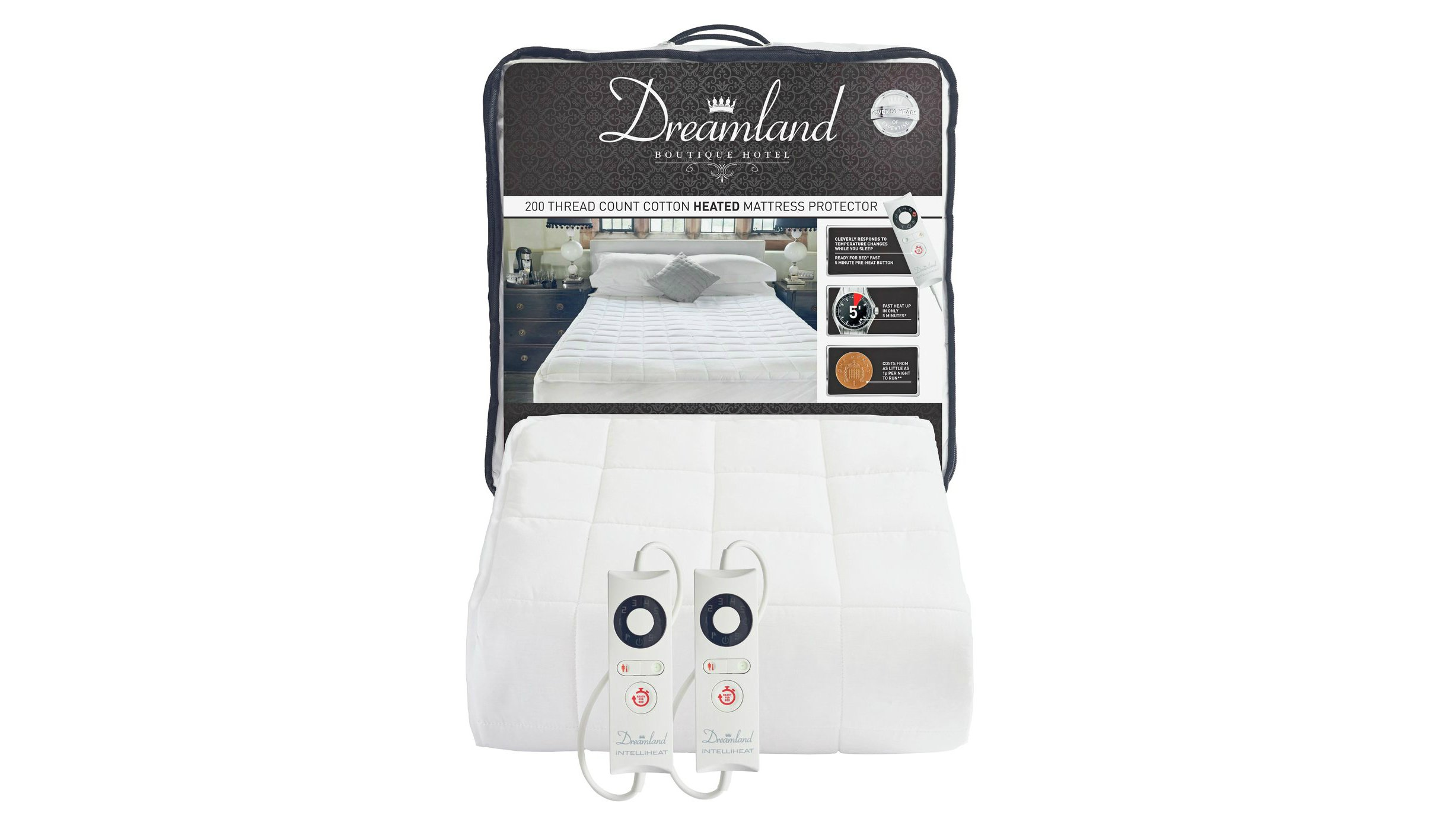Best Electric Blanket The Top Mattress Covers Fleeces Dunlopillo Carriol 180 200 If Youre Looking For A Little Extra Luxury And Comfort Dreamlands Boutique Gives You Thread Count Cotton Percale