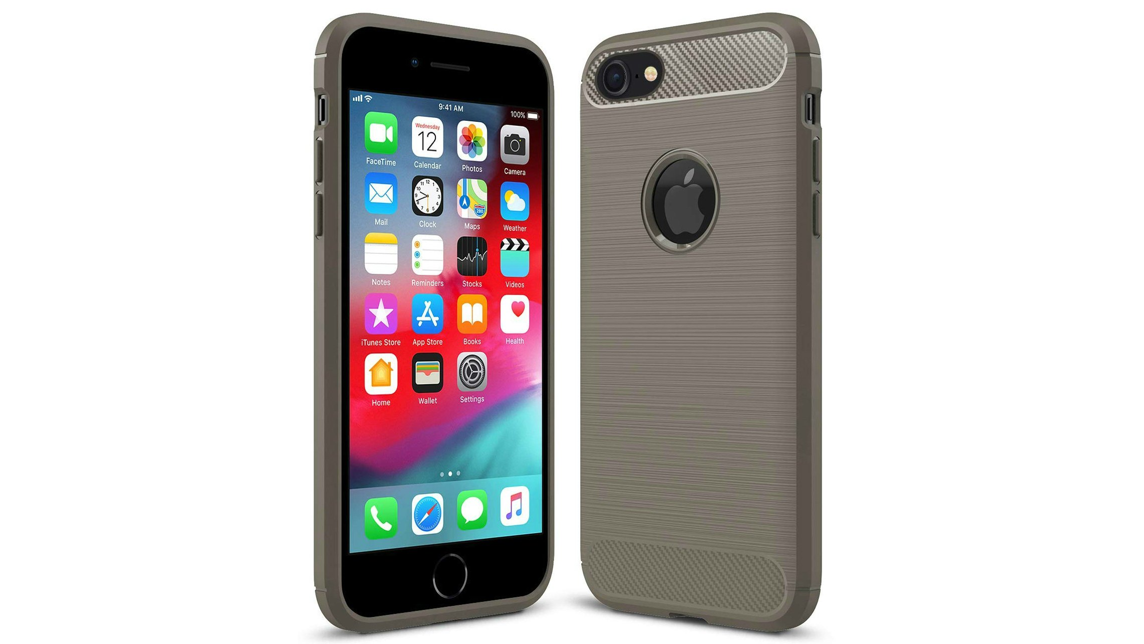 0573986110 With shock-absorbing silicone technology that looks like brushed metal,  this case offers lightweight protection for your iPhone 6 or 6s alongside  good grip ...