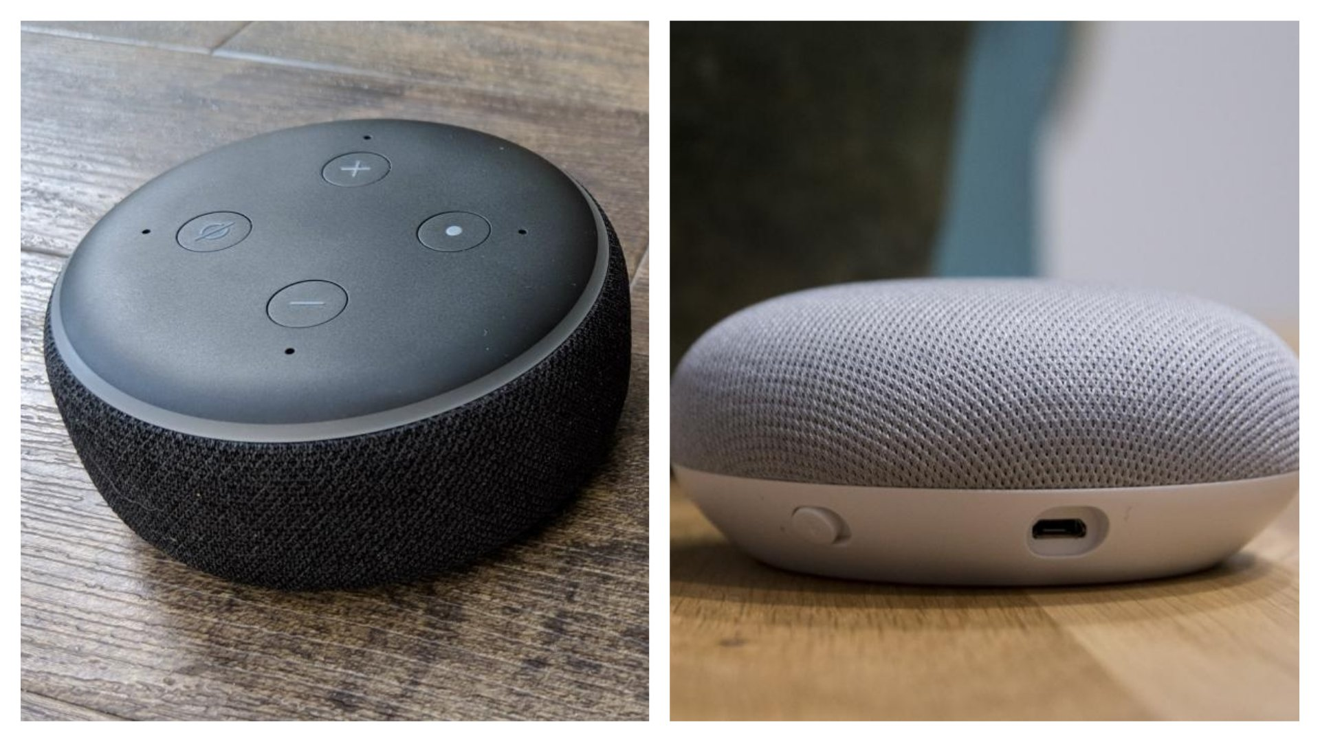 931d0b16834a3b Google Home Mini vs Echo Dot: Which shrunken smart speaker is right ...