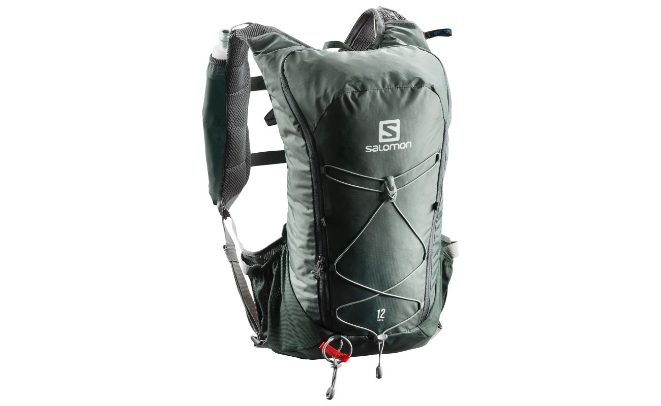 The Salomon Agile 12 Set provides a useful amount of storage without  sacrificing too much in the comfort department. The straps and rear of the  bag are ... 5d10dcd2dfe00