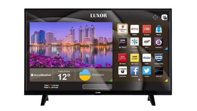 535798b0f39 The best TV April deals under £500. 1. Luxor 43in 4K Ultra HD (was £350